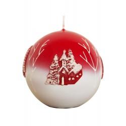 Kalėdinė žvakė 3