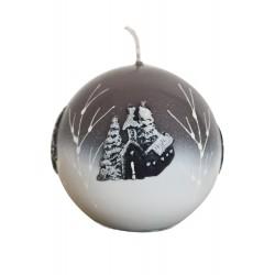 Kalėdinė žvakė 4
