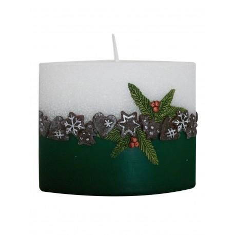 Kalėdinė žvakė 1